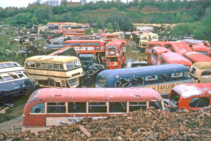 scrapyard buses More