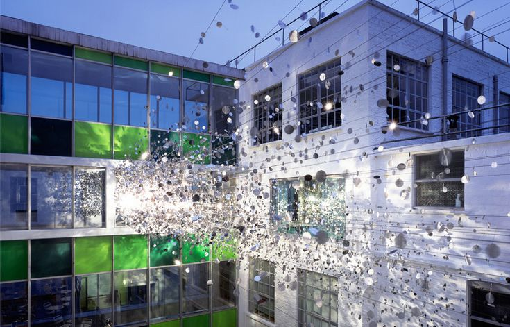 Built by ROSO in , United Kingdom ROSO has launched a major art installation at Clark Shoes Headquarters in Street Somerset, South England. This was co...