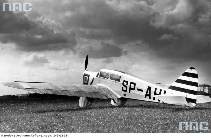 Samolot PZL 19 - sylwetka samolotu