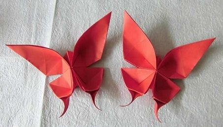 Origami Butterfly | PaperCraftCentral.net