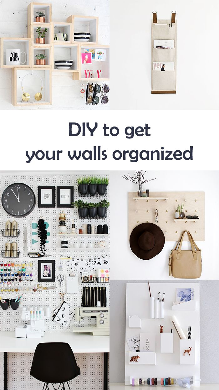 Ohoh Blog - diy and crafts: 5 DIY to try # Wall organizer
