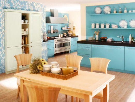 89 besten [ Farbe in die Küche ] Bilder auf Pinterest ...