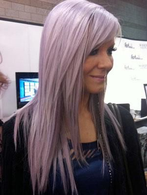 for this color: hair prevously bleached to creamy blonde ...