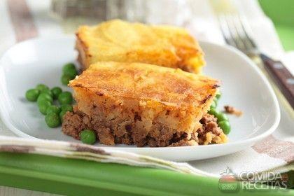 Receita de Torta de liquidificador com carne moída - Comida e Receitas