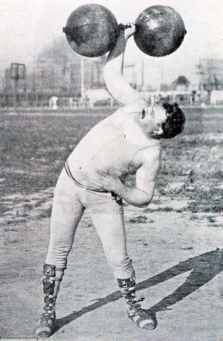 In 1904, US weightlifter Frederick Winters (pictured) won silver in the…