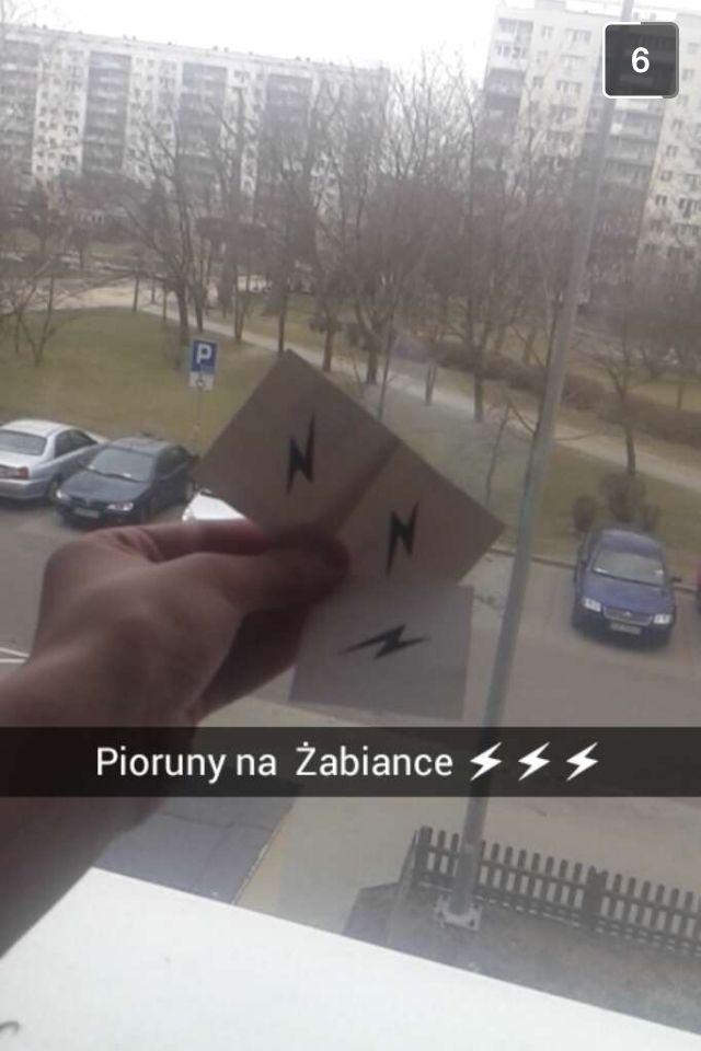 ⚡️ naklejki naklejki!   #cleant #naklejki #gdansk #piorun