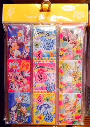 ディズニー 夏祭り サマーフェスティバル メモセット TDL TDS