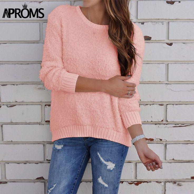 Pink Long Sleeve Slim Fit Pullovers Winter Solid Color Warm Knitted Sweaters Women Autumn Pull Jumper Elegant Outwear     Tag a friend who would love this!     FREE Shipping Worldwide     Buy one here---> https://onesourcetrendz.com/shop/all-categories/womens-clothing/womens-sweaters/pink-long-sleeve-slim-fit-pullovers-winter-solid-color-warm-knitted-sweaters-women-autumn-pull-jumper-elegant-outwear/