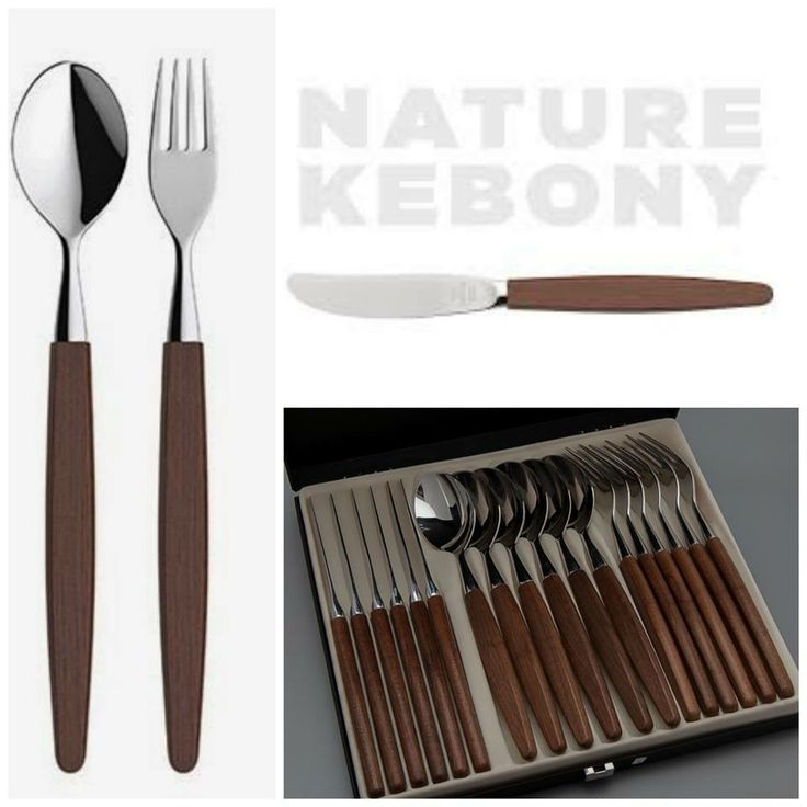 This elegant tableware from Skaugum is made with sustainably sourced Kebony Maple.