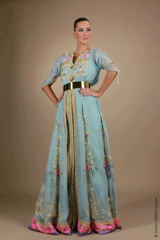 Fabulous sexy elegant luxury perfect hot caftan dress moroccan dress classy morocco - Dressing modellen ...