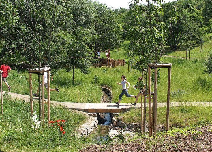 Park Sítenské údolí Kladno