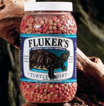 Fluker Aquatic Turtle Diet 4 Lbs, Fluker Labs -  Small Animal Pet Food Fluker's Turtle Diet for Aquatic Turtles should be fed to juvenile and adult turtles once per day, 3-5 times a week.