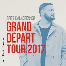 Fritz Kalkbrenner: Grand Départ Tour 2017 // 03.03.2017 - 07.04.2017  // 03.03.2017 21:00 DRESDEN/EVENTWERK Dresden // 04.03.2017 20:30 WIEN/Planet.tt Bank Austria Halle Gasometer // 10.03.2017 20:00 FRANKFURT/Jahrhunderthalle Frankfurt // 17.03.2017 20:00 BERLIN/Velodrom // 18.03.2017 20:00 KÖLN/Palladium Köln // 24.03.2017 20:00 HAMBURG/Sporthalle Hamburg // 25.03.2017 20:00 MÜNCHEN/Zenith // 07.04.2017 21:00 ESCH ALZETTE / LUXEMBURG/ROCKHAL