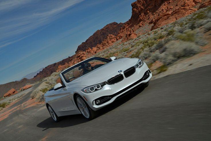 Allnew BMW 435i Convertible Tracktest in Nevada: www.neuwagen.de/…