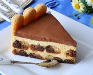 Charlotte allégée au chocolat façon tiramisu : Savoureuse et équilibrée | Fourchette & Bikini