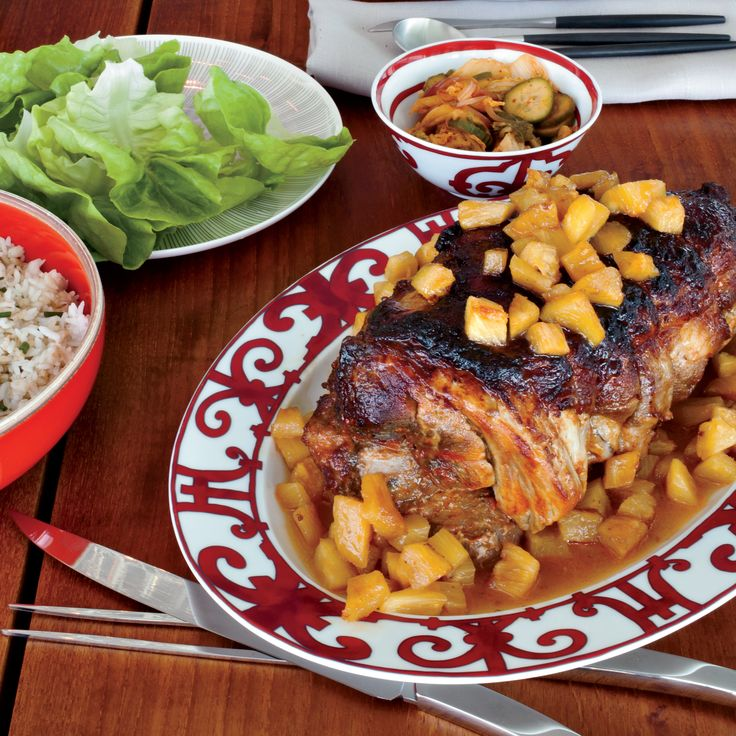 Slow-Cooked Sweet-and-Sour Pork Shoulder with Pineapple ...