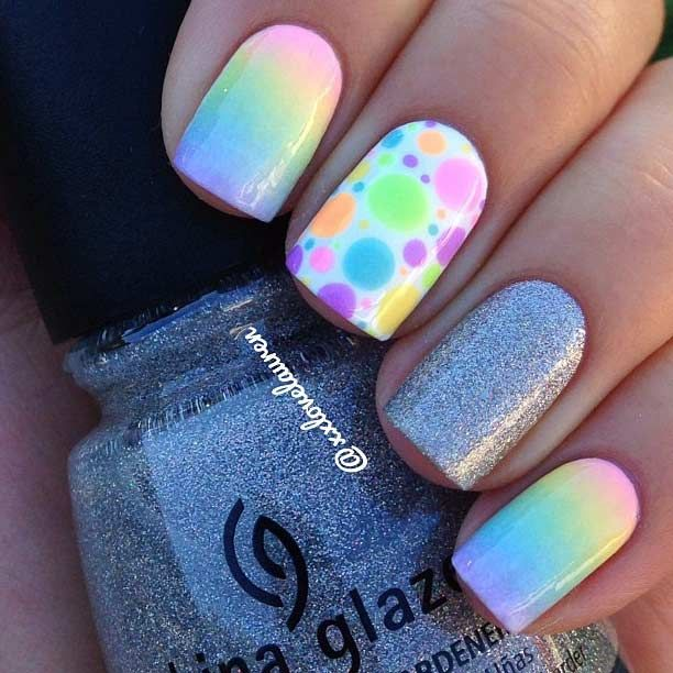 1000+ Ideas About Sparkle Nail Designs On Pinterest