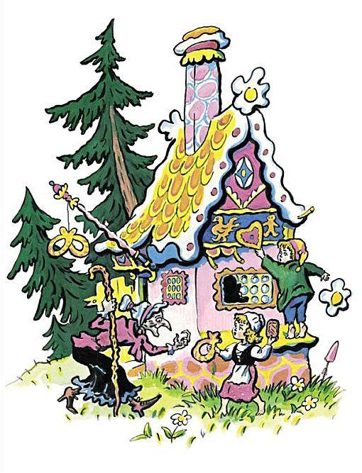 Ilustraciones Fabulous: Fairy Tales - Hansel y Gretel
