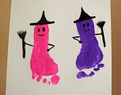 Pinkie for Pink: Halloween Kid's Art Projects