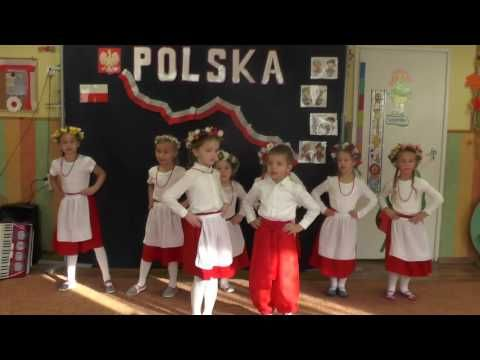 """Taniec ludowy w przedszkolu """"Przepióreczka"""" - YouTube"""