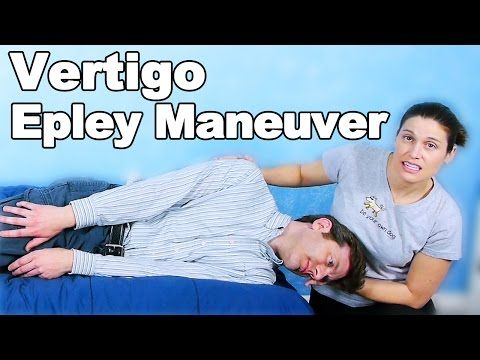 Use this video to guide you through the epley maneuver at home! This is a great technique to use for benign paroxysmal positional vertigo. Check with your ph...