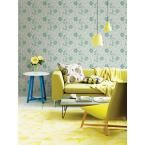 Chloe Green Floral Wallpaper Sample