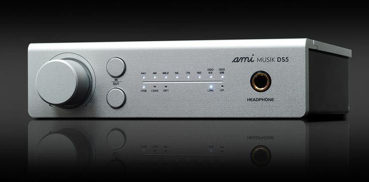 Ami MUSIK DS5 DAC and Headphone Amplifier