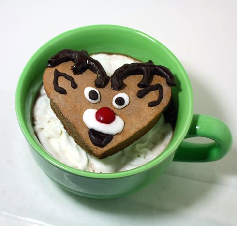 Reindeer Marshmallow Mug Floats on Hot Cocoa from Today Show by JeanneBenedict.com