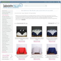 """Square Tablecloths > 90"""" Square Overlays 