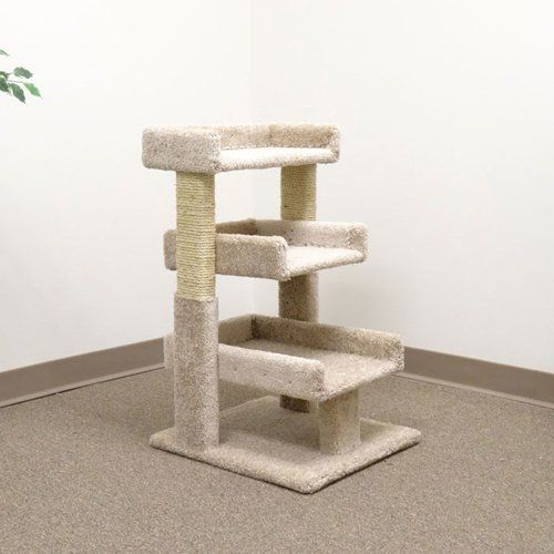 possible 2nd perch new cat condos triple cat perch cat trees at hayneedle