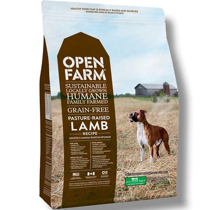 Open Farm Pasture Raised Lamb Dry Dog Food Grain Free Dog Food