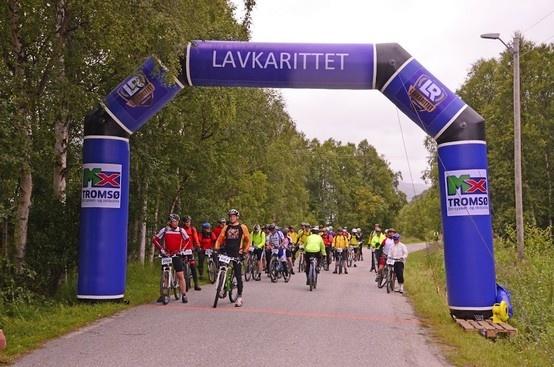 Lavkarittet kunne fortelle at både arrangør og sponsor var strålende fornøyde med sine 2 portaler levert til Lavkarittet 2012