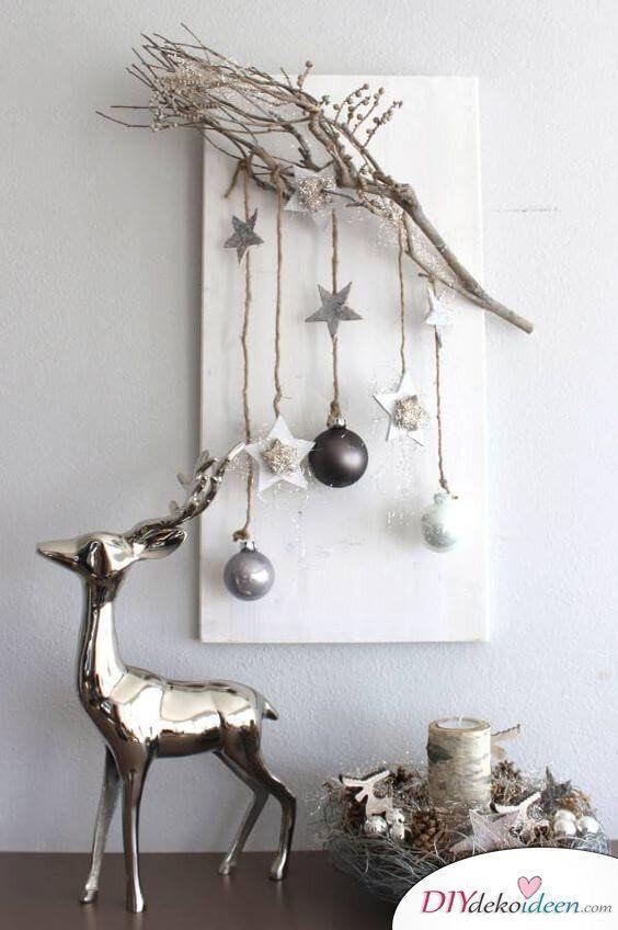 Skandinavische DIY Weihnachtsschmuck und Bastelideen für Weihnachten   – weihnacht