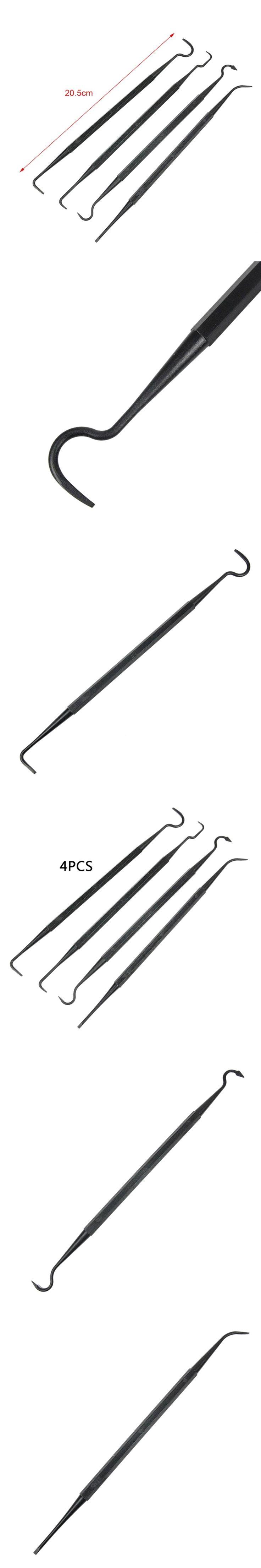 4 pcs/set Pistol Brush Cleaner Kit Airsoft Tactical Rifle Gun Cleaning Nylon Pick Shotgun Tube Hunting Gun Accessories Tool NEW