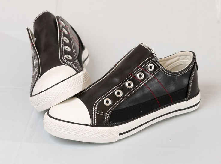 RETRO COOL: Black kicks from UrbanXT, $16.99 at swshoes.com. Enter to win a $ 500 shopping spree with @TheProvince and Brentwood Town Centre: http://theprov.in/pinandwin #backtoschool