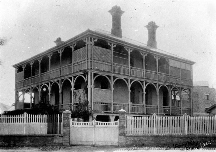 1173 best history australia queensland images on pinterest for Queensland terrace state library