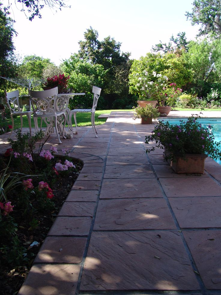 Eden Range Paver 440x440x40mm and 215x215x40mm Pool Coping. Product available from Stonemarket (Pty) Ltd, South Africa.