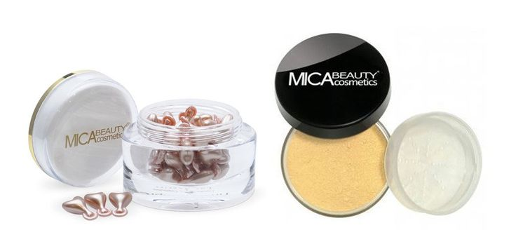 Mica Beauty Advanced Multi-vitamin Time Complex Capsule + Mineral Fondation Mf2-sandstone. The Mica Beauty Bundle Includes:. 1 Mica Beauty Advanced Multi-Vitamin Time Complex: The Magic Capsule. 1 Mica Beauty Loose Powder Mineral Foundation 9gr.
