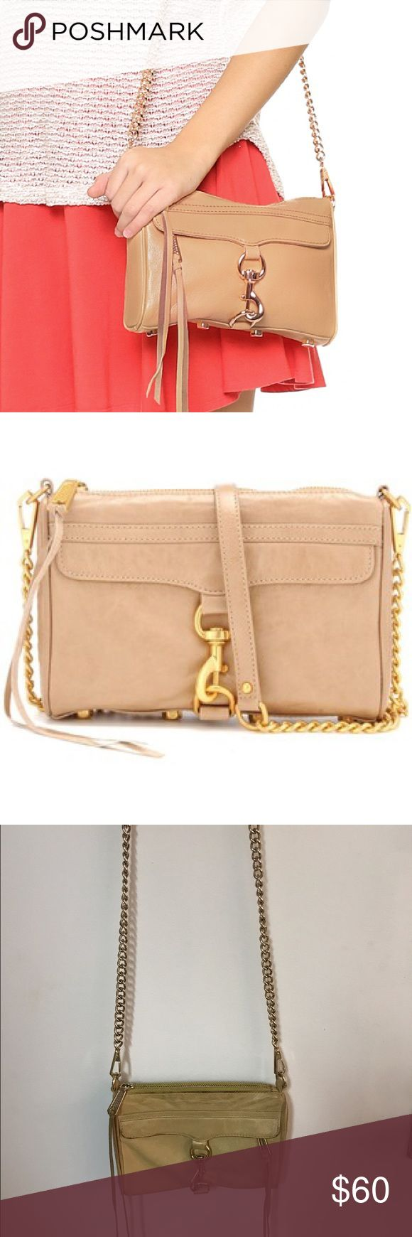 Rebecca Minkoff Mini Mac Chain Bag in Taupe Rebecca Minkoff Mini Mac Chain Bag in Taupe 🌟 Offers accepted! 🌟 Bundles accepted! 🌟 15% off 2+ items ❌ trades ❌ PayPal Rebecca Minkoff Bags Crossbody Bags