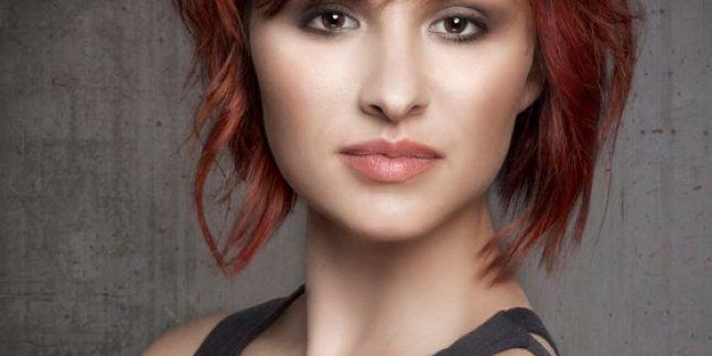 Birbirinden Havalı Kızıl Saç Rengi Saç Modelleri