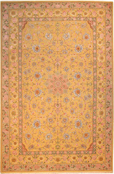 Antique Persian carpets, Tabriz rug #11079 from the Nazmiyal Collection  http://nazmiyalantiquerugs.com/antique-rugs/tabriz-rugs-antique/