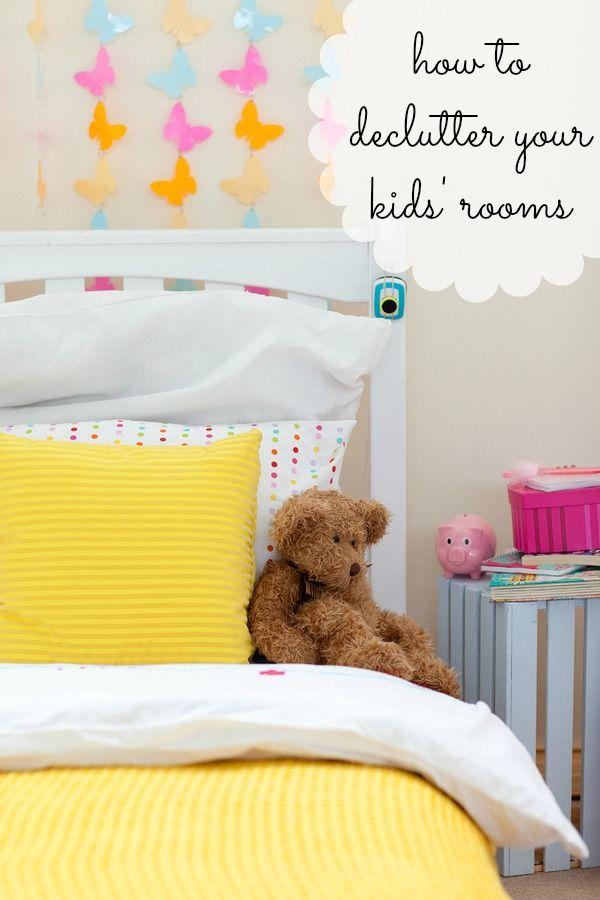 How to declutter your kid's room