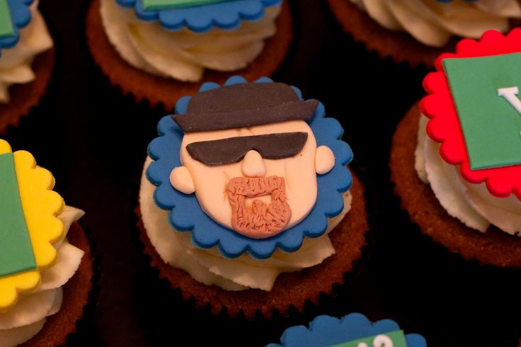 Breaking bad cupcake toppers