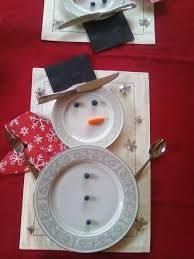 Image result for snowman place settings