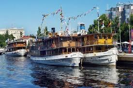 Höyrylaivat Savonlinnassa Steamboats in Savonlinna