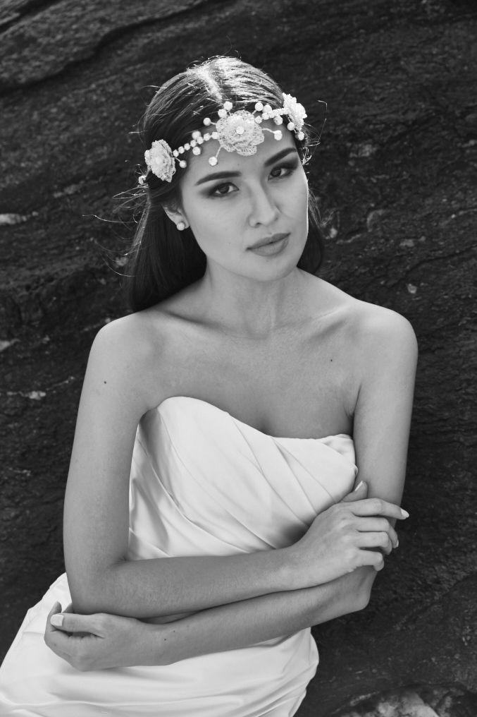 Look de noiva para casamento na praia - Editorial de moda Inesquecível Casamento