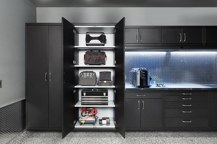 Detroit Custom Steel Garage Cabinets, Garage Cabinet System