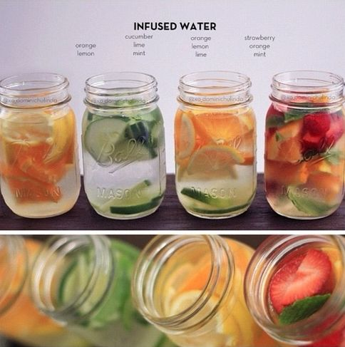 Infused waters! Beautiful, Healthy, Easy and Inexpensive! #MyVeganJournal