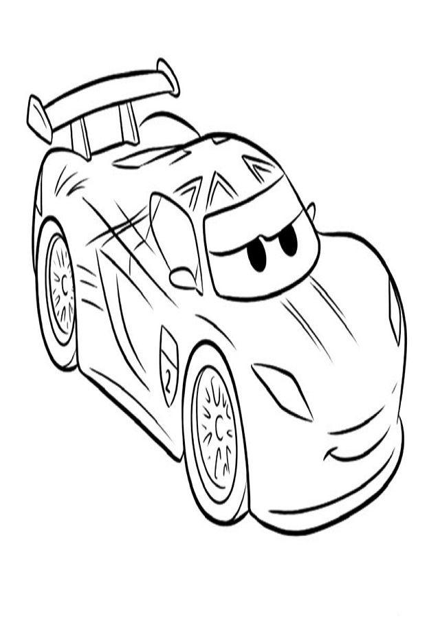 34 best dibujos cars para colorear images on Pinterest