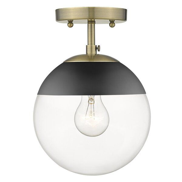 Mid Century Modern Design With A Modern Twist These Fashionable Orbs Are Highly In 2020 Semi Flush Mount Lighting Flush Mount Ceiling Lights Semi Flush Ceiling Lights